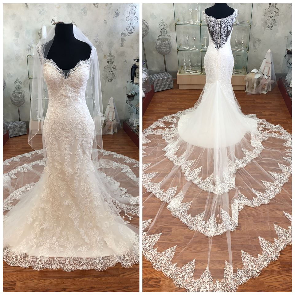 9d2050ac08 Bridal Novias has an extensive collection of beautiful bridal gowns by  designers like Allure Bridal