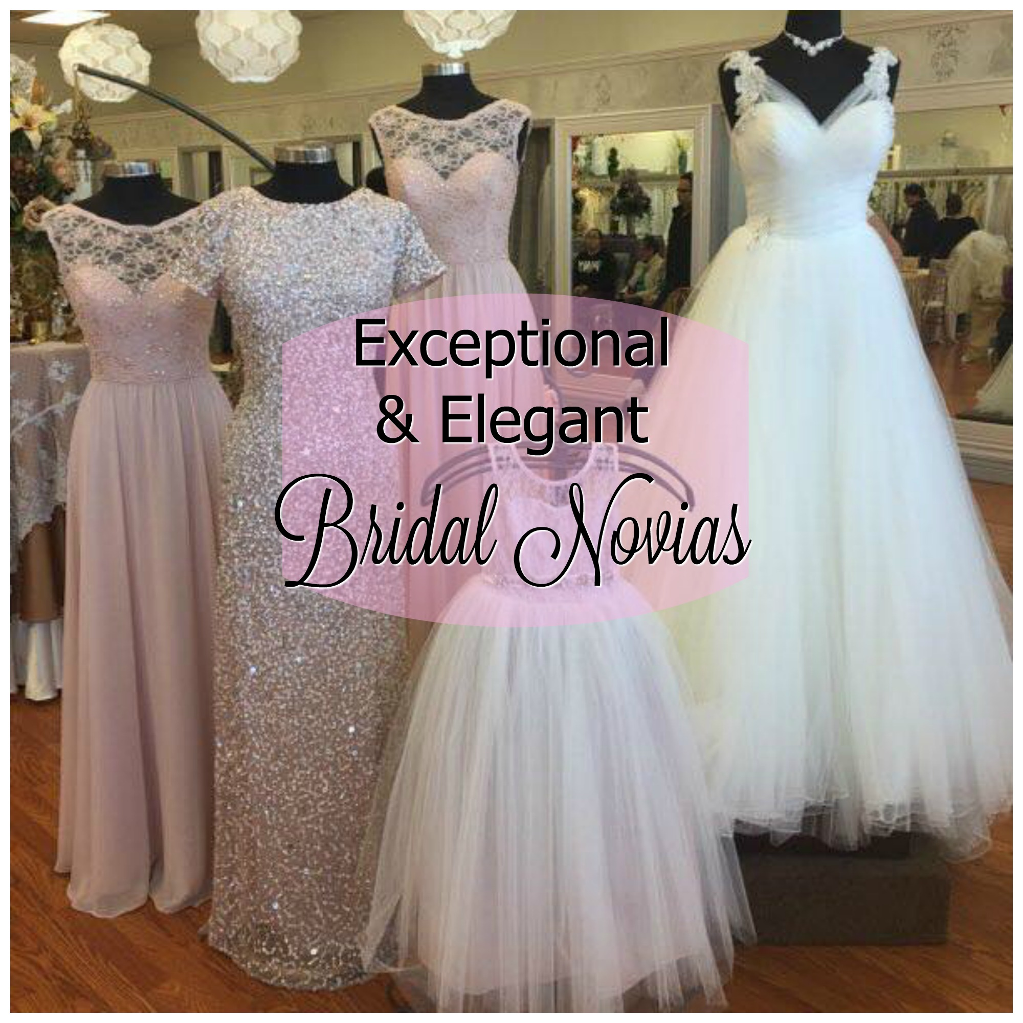 f25f919012 Experience the Exceptional Service and Elegant Options at Bridal Novias in El  Paso